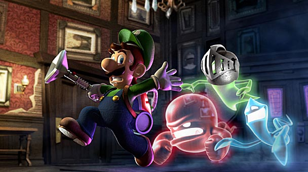 Luigi's Mansion Dark Room Review (1)