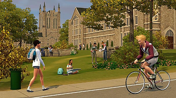 The Sims 3 University Life Expansion  (2)