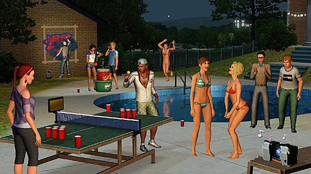 The Sims 3 University Life Expansion  (3)