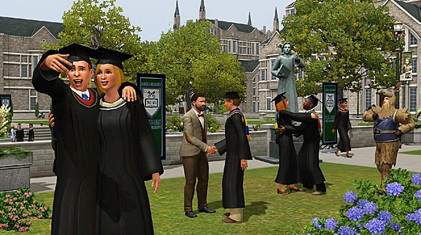 The Sims 3 University Life Expansion  (4)