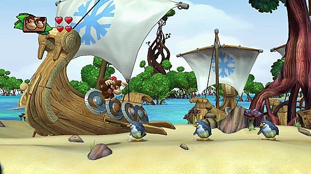 Wii U Donkey Kong Country