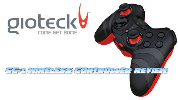 Gioteck SC-1 Header