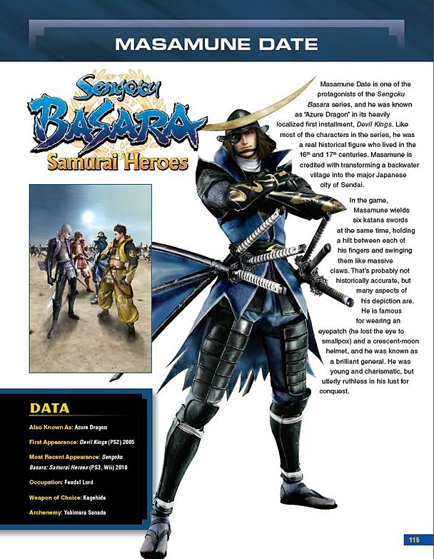 Capcom 30th Anniversary Character Encyclopedia (2)