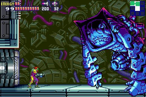 Metroid Fusion Screenshot
