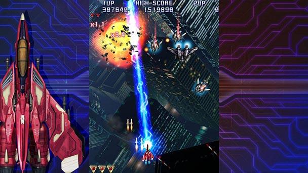 Raiden IV Overkill Screen