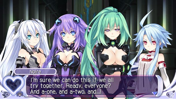 Hyperdimension Neptunia Producing Perfection (2)