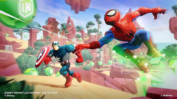 Disney Infinity 2.0 Marvel Super Heroes (6)