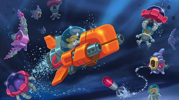 Aqua Kitty- Milk Mine Defender (1)