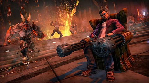 Saints Row IV Gat out of Hell