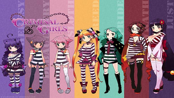 Criminal Girls Header