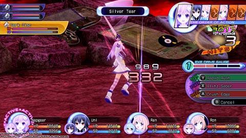 Hyperdimension Neptunia ReBirth2 Sisters Generation (1)