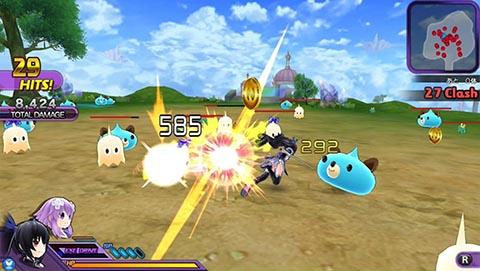 Hyperdimension Neptunia U Action Unleashed