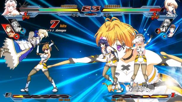 Nitroplus Blasterz Heroines Infinite Duel 1