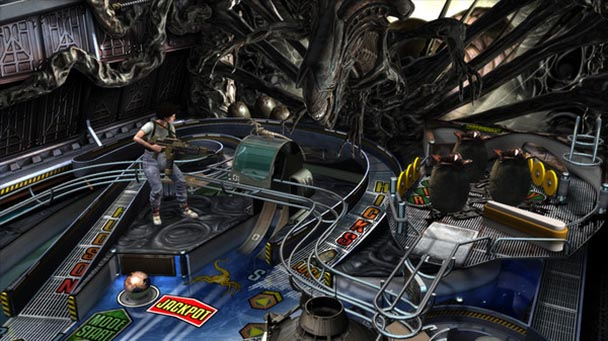Aliens vs. Pinball (1)