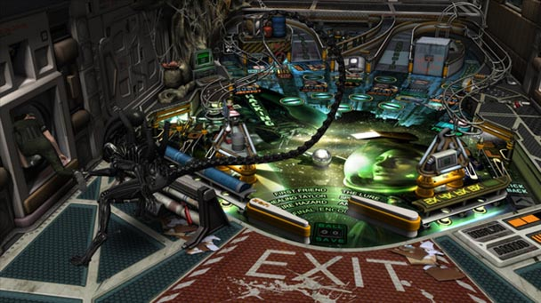 Aliens vs. Pinball (2)