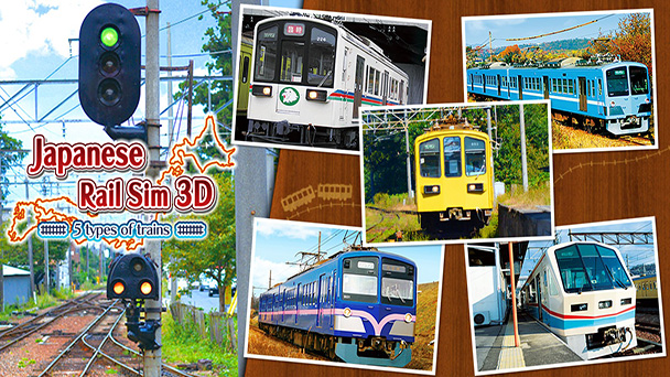 Japanese Rail Sim 3D: 5 Types of Trains review - Tech-Gaming